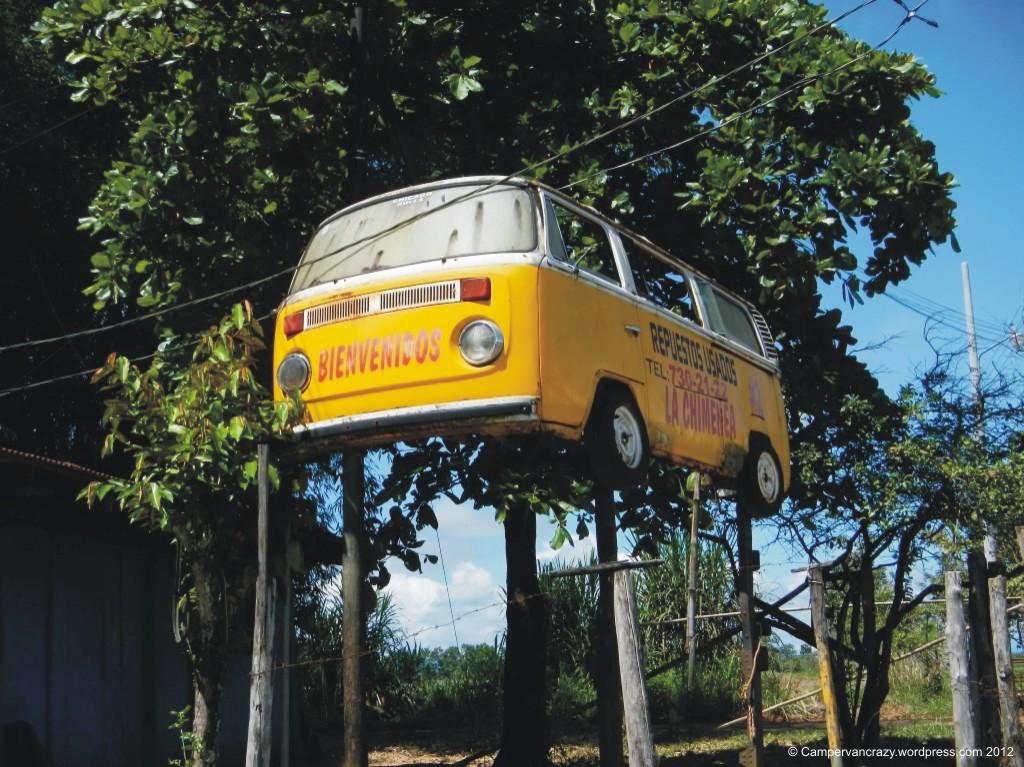 VW Bus Billboard