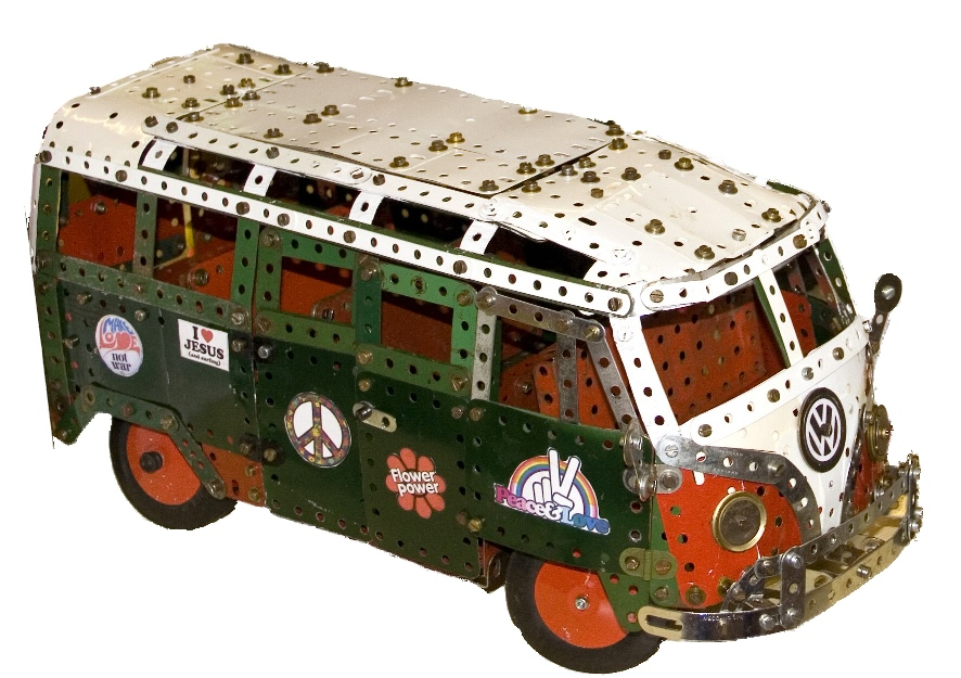 Les recherches automobiles de Zanza : Volkswagen T1 Split Mech-camper-van1