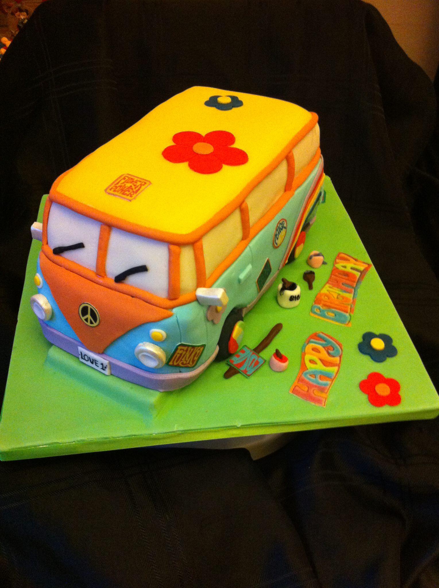 Vw Camper Birthday Cake Vw Camper Blog